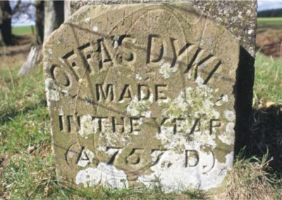 offas dyke stone